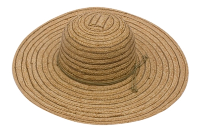 wholesale raffia braid wide brim hat