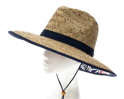 4989c64f11bad wholesale straw lifeguard hats hawaii hibiscus flowers