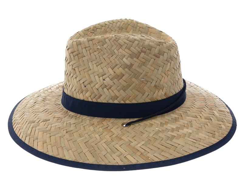 wholesale straw lifeguard hats hawaii hibiscus flowers ef382479890