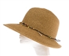 Wholesale Womens Straw Hats - Lampshade Hat with Sea Life Charms