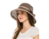 Ribbon Hats - Packable Cloche Hat