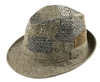 wholesale patchwork fedora