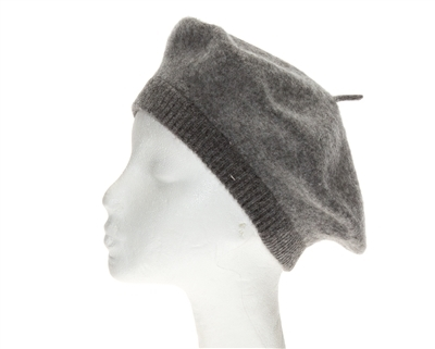 Winter Berets - Wool Hats Knit Cuff