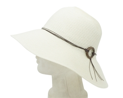 0c9ba0aa5 701 Floppy Sun Hat w/ Coconut Ring