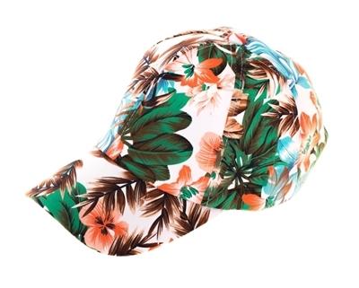 Wholesale Womens Baseball Hat - Tropical Print Cap d827a47e38c