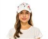 Wholesale Floral Crown Baseball Cap Womens Beach Hat
