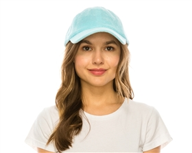Wholesale Terry Cloth Baseball Cap Womens Beach Hat