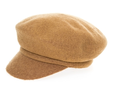 wholesale Wool Cabbie Cap
