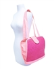 straw handbags wholesale 3 dollars bright colors pink green yellow