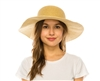 Wholesale Sun Hats - Wide Brim Straw Hat UPF 50