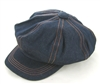 wholesale closeout newsboy caps denim