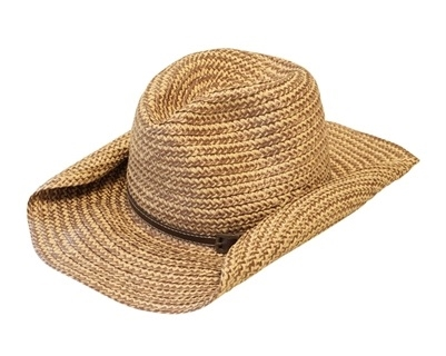 Wholesale Cowboy Hats - Mixed Straw with Rope and Chain bf511bfcedb0