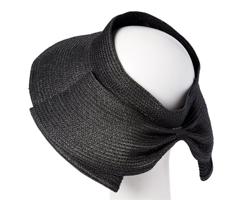 SKU  733. Straw visor or crownless hat with ... 970437c97db0