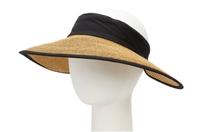 Wholesale Straw Sun Visors with Comfort Band