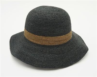 dadbe8614ceda2 Organic Raffia Straw Hats Wholesale - Womens Turn Up Hat