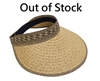 Sun Hats Wholesale - Tribal Pattern Sun Visor