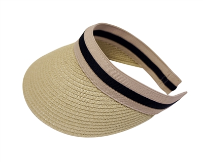 Wholesale Sun Visor Hats - Clip Back