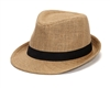 wholesale hemp fabric fedora