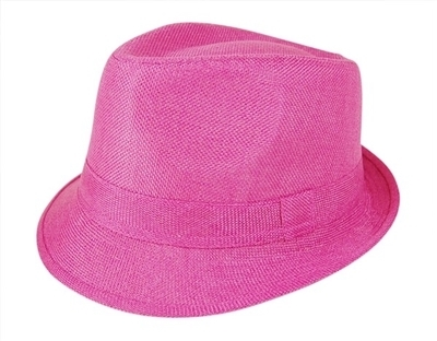 wholesale Color Linen Fedora
