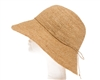wholesale handwoven organic raffia straw sun hat