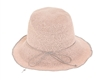 Wholesale Fine Crochet Bucket Hat w/ Color Edge