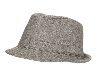 wholesale wool and lurex fedora