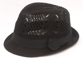 wholesale pattern knit fedora