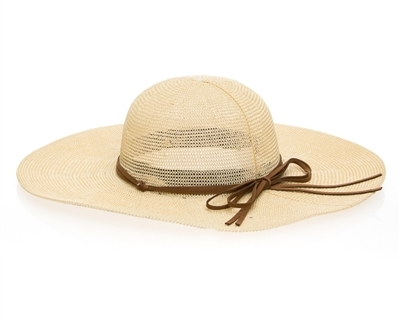 Wholesale Ladies Floppy Sun Hats - Knitted Toyo Straw Hat