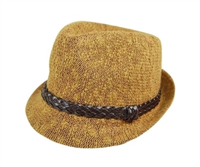 wholesale nubby knit fedora