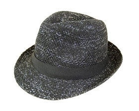 wholesale lurex knit fedora