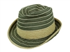 wholesale denim and straw fedora
