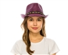 wholesale knitted toyo fedora  braid band