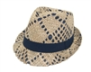 wholesale mens fedoras - handwoven straw fedora hats - mens beach hats wholesale