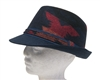wholesale tribal print winter fedora