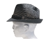 wholesale grey tribal fedora