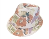 wholesale summer fedora  parrot print
