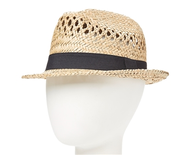 wholesale straw fedoras hats mens womens