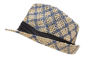 wholesale womens fedora hats straw seagrass