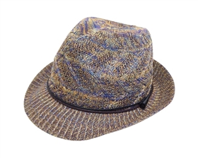 Wholesale Knit Fedora Hats - All Season