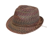 Wholesale Straw Fedora Hat for All Seasons
