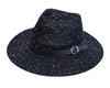 Wholesale Panama Hat with Belt and Sequins