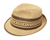 Wholesale Straw Fedora Hats - Summer Fedoras