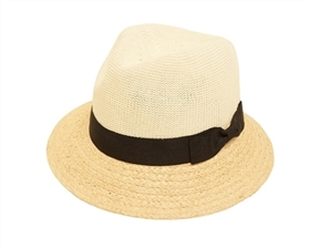wholesale hats handwoven straw fedoras