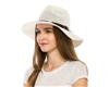 Wholesale Sun Hats - Straw Panama with Knit Crown