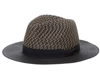 Wholesale Straw Panama Hats - Tweed Crown