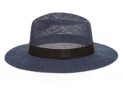 703ec60f8 8078-59 Mesh Panama Hat w/ Grosgrain Band