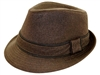 wholesale fedora  trimmed band