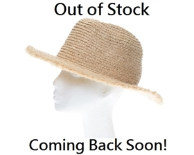 wholesale womens panama hats - raffia straw fringe edge hat