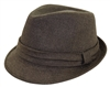 wholesale fedora  folded band