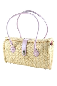 wholesale cornhusk straw shoulder bag